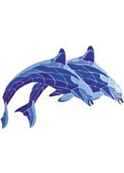 Decorazione Liner PVC Delfini