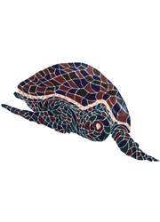 Decorazione Liner PVC Tartaruga