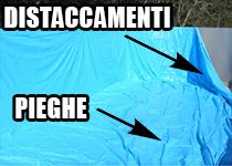 Difetti Liner PVC SACCO