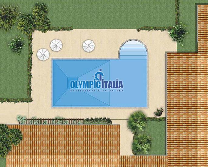 Piscina Design  Romana L
