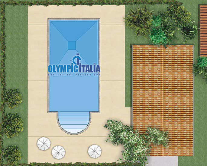 Piscina Design  Romana C